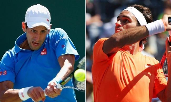 Final soñada entre el 1 y el 2 del tenis masculino en Indian Wells.