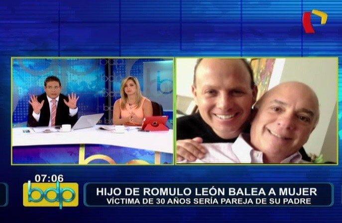 Hijo de Rómulo León baleó a mujer y su padre le pide entregarse