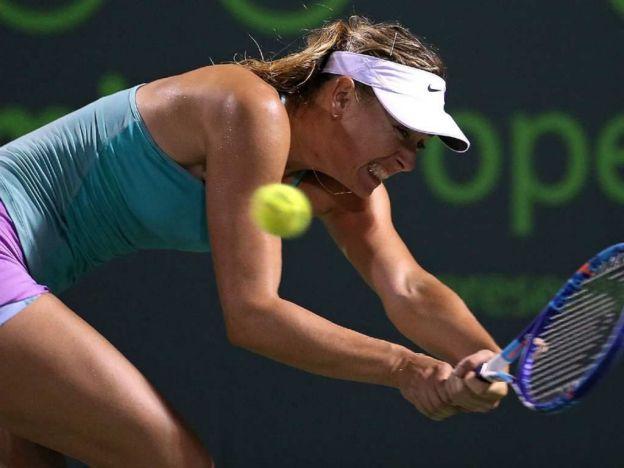 Sharapova perdió ante la novel Gavrilova.