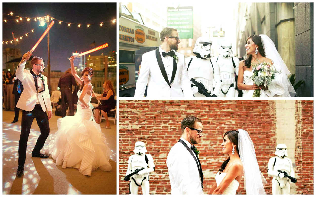 Star Wars: Mira esta boda inspirada en