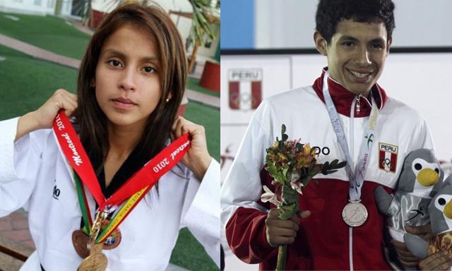 Julissa Diez Canseco y Luis Oblitas participarán en los ´Juegos Panamericanos de Toronto que se desarrollarán este año.