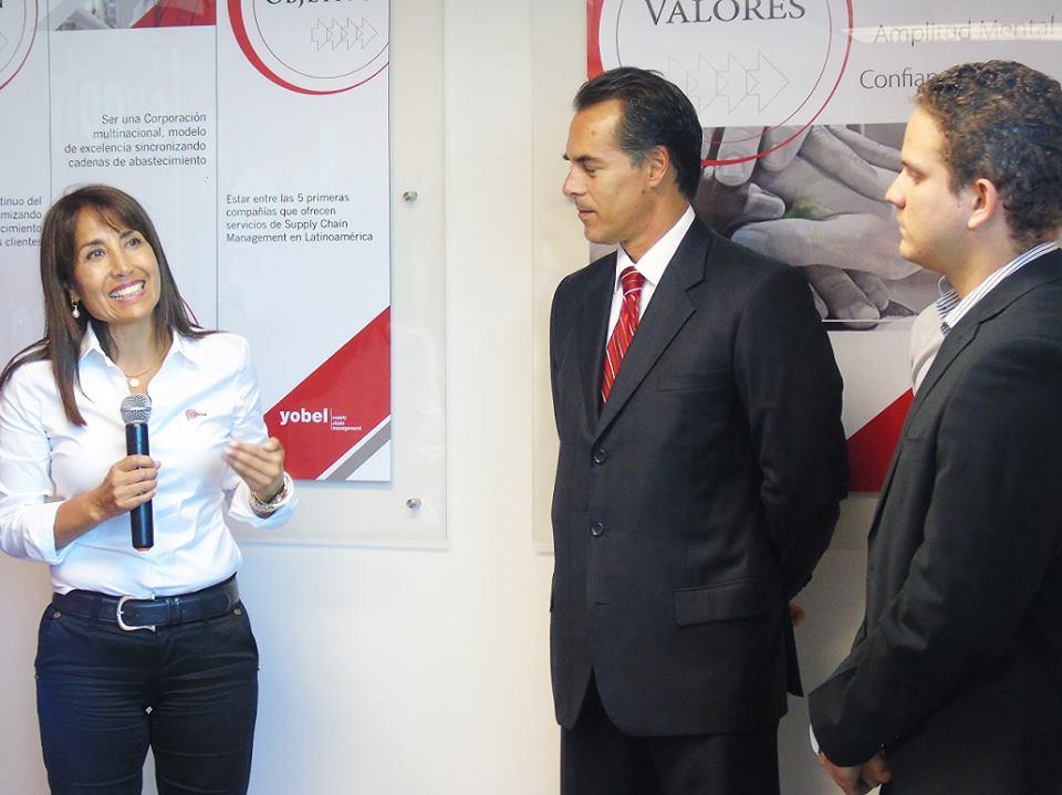 Magali Silva, ministra de Comercio Exterior y Turismo, afirmó que la empresa de servicios, Yobel SCM,  es una embajadora del Perú.