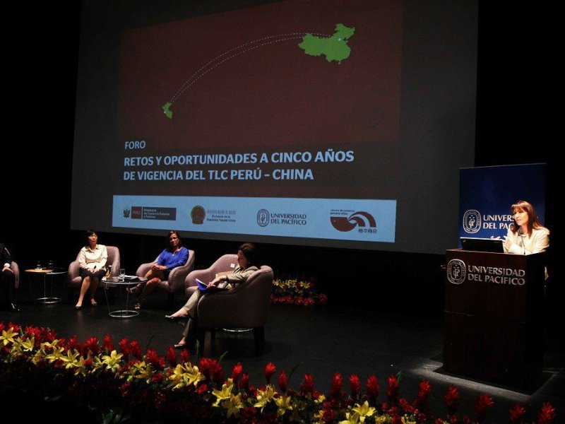 "La ministra Silva dijo que a la fecha ""el Perú es el primer exportador de pota procesada y alpaca peinada hacia china""."