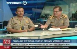 Jenko del Río miente y sí agredió a la autoridad asegura PNP [VIDEO]