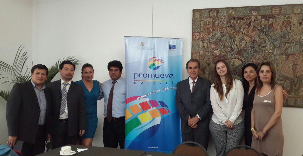 El organismo de promoción de Exportaciones de Bolivia PROMUEVE es el anfitrión en la cuarta versión del Encuentro Empresarial Andino.