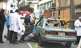 Asesinan a sicario que estaría implicado en atentado contra Gerald Oropeza (Foto La República)