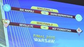 Quedaron listos los cruces por semifinales de la Europa League.