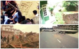 Impactante: Terremoto en Nepal en videos subidos a YouTube