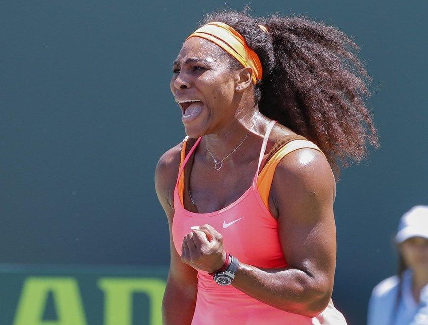 Serena Williams sostendrá quizás una dura semifinal contra Halep.