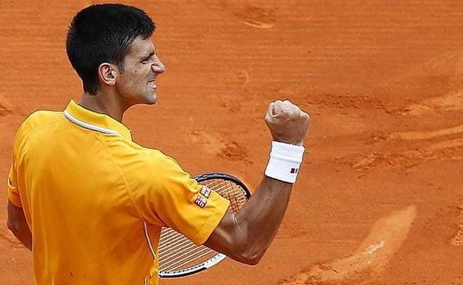 Djokovic transpiró más de la cuenta en su primer partido del Masters 1000 de Roma.