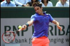 Federer aprobó su segundo examen del Rolad Garros.