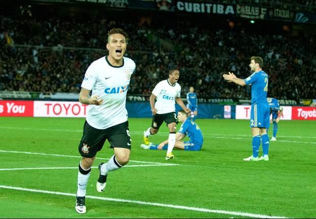 Paolo Guerrero es considerado ídolo en Corinthians tras anotar el gol de la final de Clubes al Chelsea de Inglaterra.