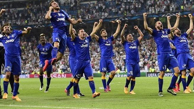 Juventus silenció el Santiago Bernabéu tras llegar a la final de la Champions.