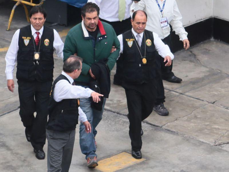 Martín Belaunde Lossio preso y aislado en penal Piedras Gordas I
