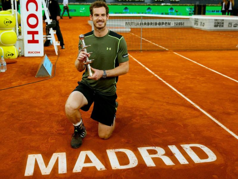 Murray obtuvo su décimo Masters 1000 de su carrera en Madrid.
