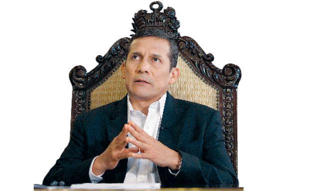 Un 73% desaprueba a Ollanta Humala y cae 5 puntos en popularidad (FOTO La República)