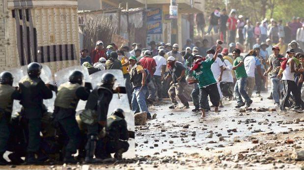 Tía María: Otro muerto por enfrentamientos con la Policía