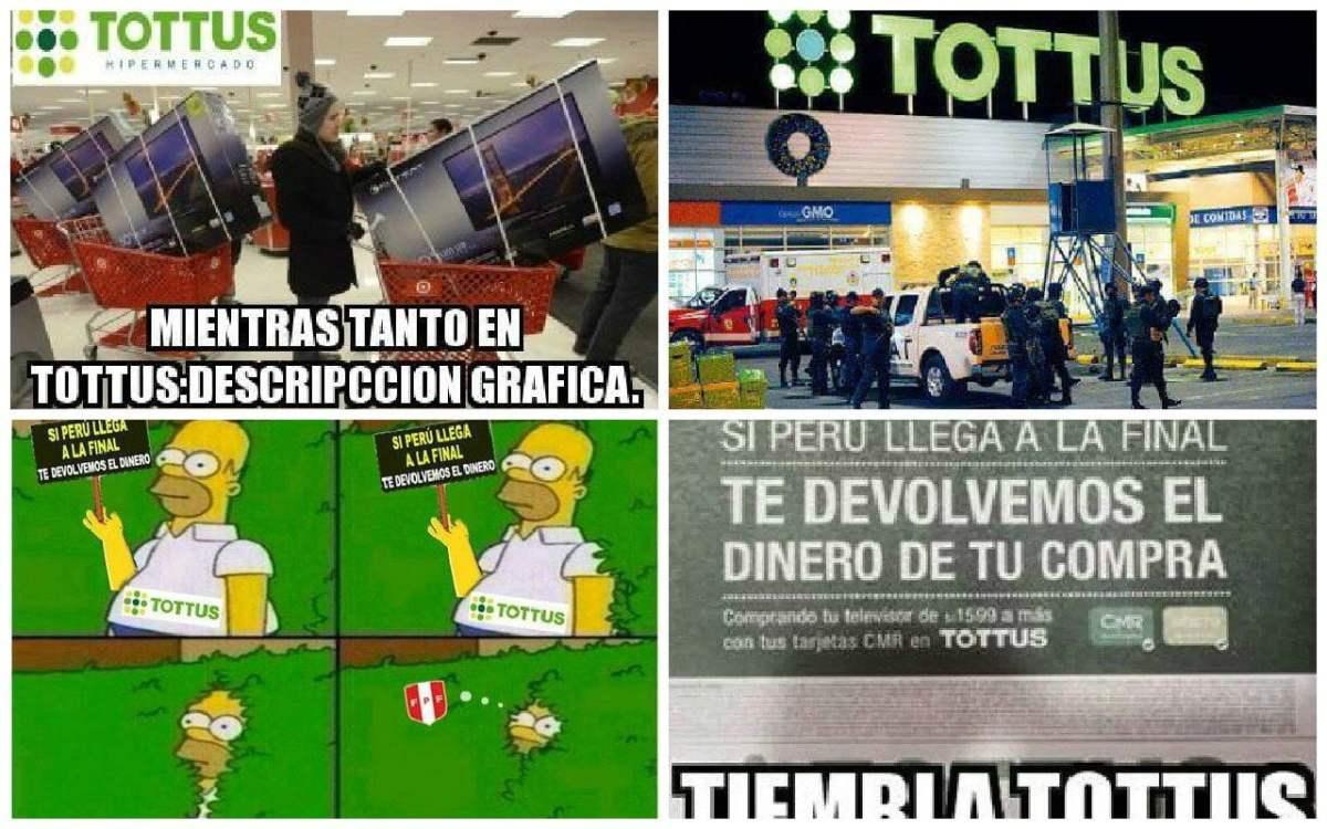 """Tottus: """"Sólo reembolsaremos compras de TV si Perú le gana a Chile"""""""