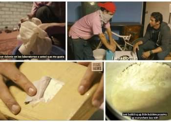 Perú: Narco enseña a periodista como hacer cocaína [VIDEO]