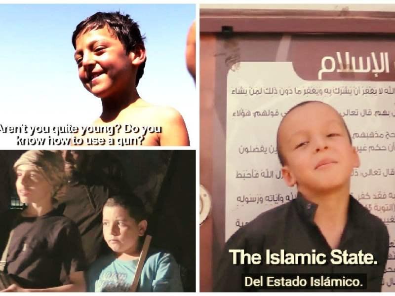 Impactante: Los niños del Estado Islámico preparados para matar [VIDEO]