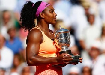 Serena Williams conquistó el Roland Garros 2015.