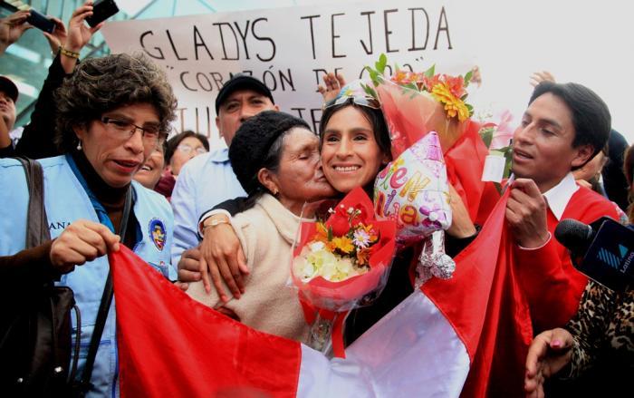 Gladys Tejeda: Nuestra medalla de Oro regresó al Perú