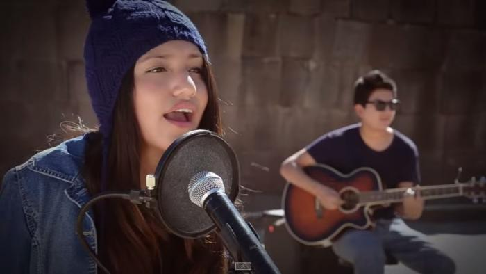 Adolescente canta en quechua un clásico de Michael Jackson (VIDEO)