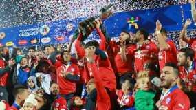 Chile ganó en casa su primera Copa América.