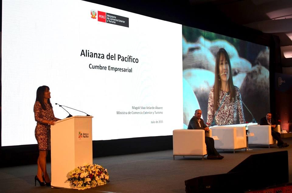 La ministra Silva señaló que la Alianza del Pacífico es la sexta economía más dinámica a nivel mundial.