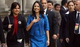 """Nadine Heredia a los congresistas: """"Produzcan leyes y no sean arma política"""""""