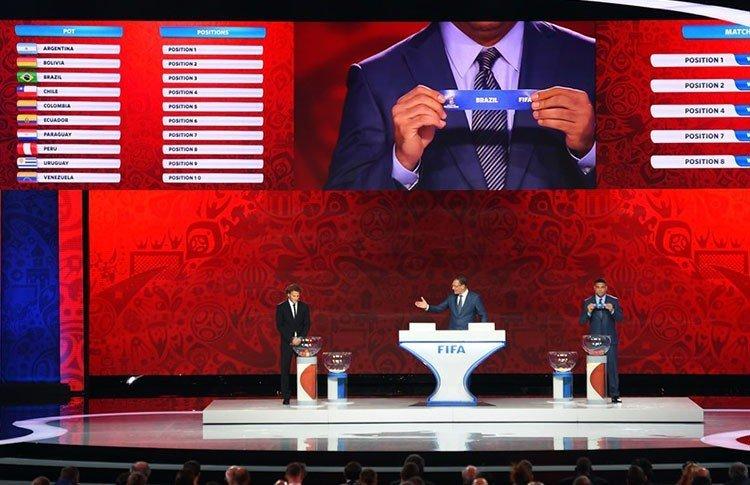 Las selecciones sudamericanas de fútbol ya conocen su calendario de partidos para el proceso clasificatorio del Mundial Rusia 2018.