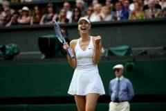 Sharapova intentará llegar a la final cuando enfrente a Serena Williams.