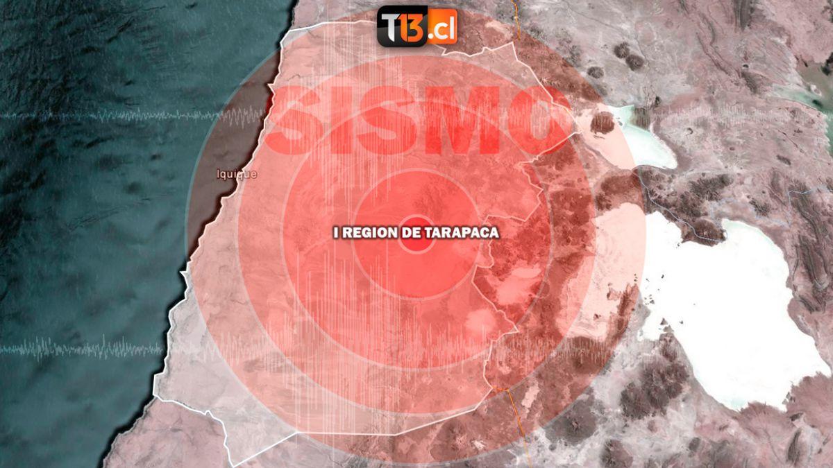 Fuerte temblor de 5.6 grados se registró en Iquique - Chile