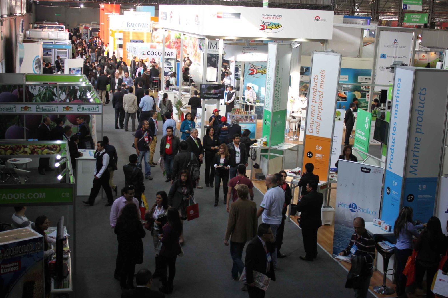 Se estima que más de 2800 visitantes extranjeros acudirán a la Expoalimentaria 2015.