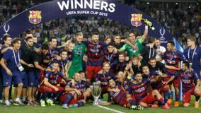 Barcelona es el máximo ganador de la Supercopa de Europa junto al Milan.