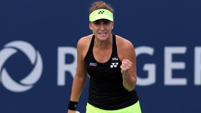 La suiza Bencic eliminó a Serena Williams de Toronto.
