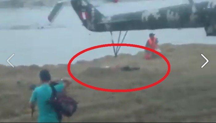 Tumbes: Cámara registra terrible decapitación de mujer por helicóptero