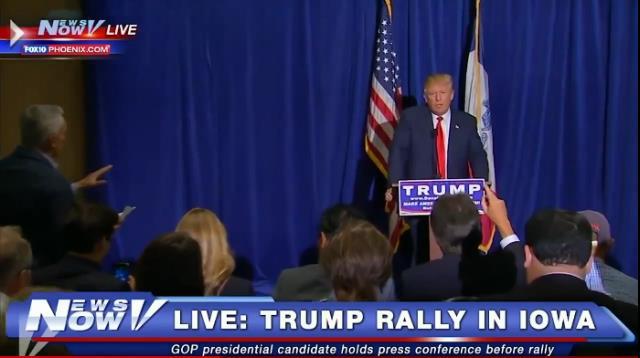 """Donald Trump le gritó a Jorge Ramos, """"regresa a Univisión"""""""