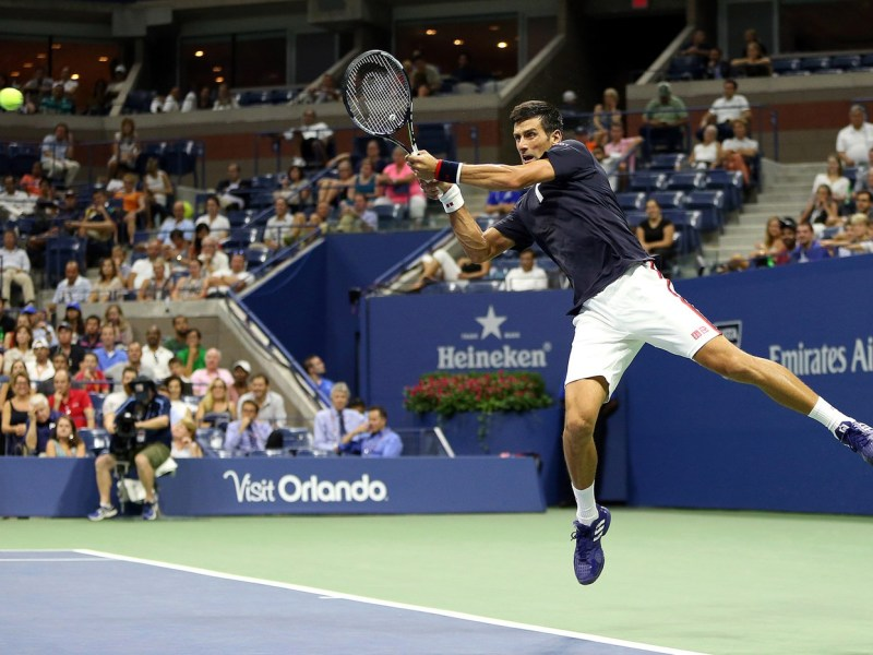 Djokovic impuso jerarquía ante López.