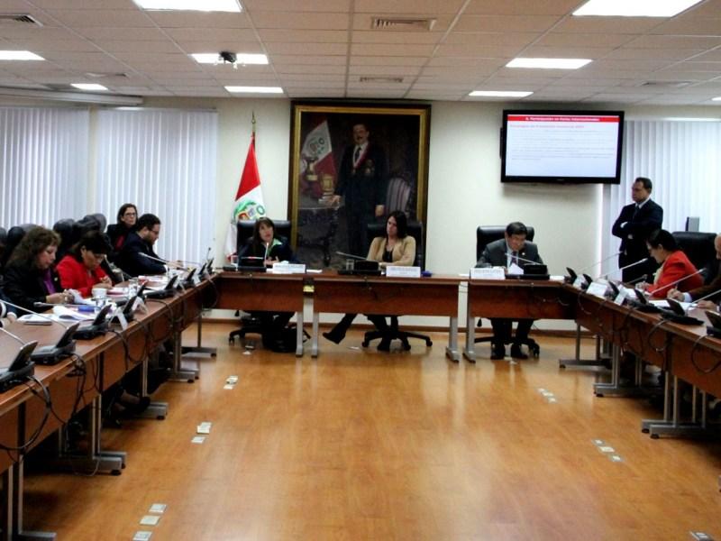 La ministra Silva detalló a groso modo las actividades pasadas, presentes y futuras de su sector en materia de Comercio Exterior.