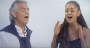 Ariana Grande y Andrea Bocelli