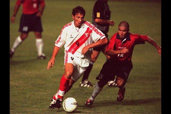 Flavio Maestri siempre realizó buenas actuaciones ante Chile.