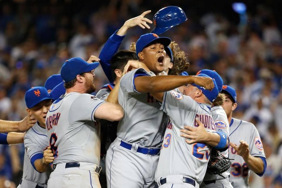 Los Mets — con Murphy a la cabeza - lograron celebrar en Los Angeles.