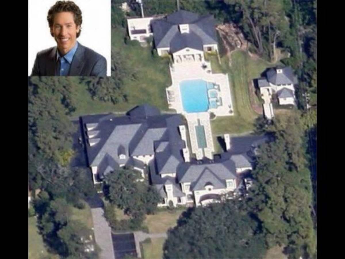 Joel Osteen: La mansión está valorada en 10 millones de dólares.