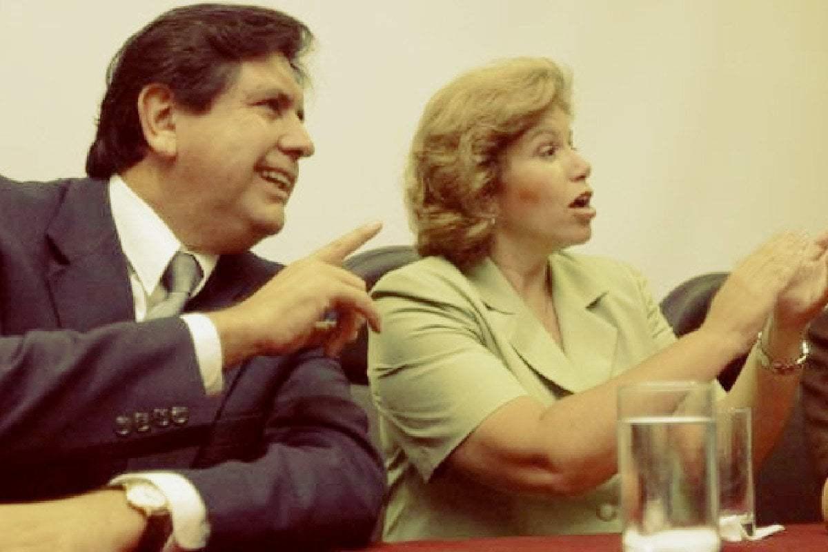 Lourdes Flores y Alan García