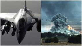 Francia ejecuta ataques aéreos contra ISIS en Raqqa - Siria
