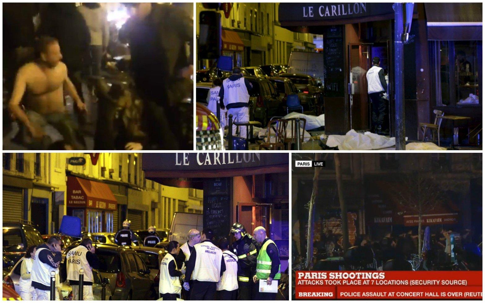 EN VIVO Terror en París, al menos 60 muertos por atentado y explosiones