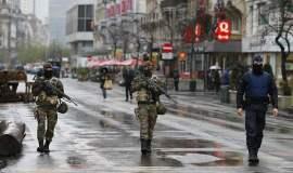 Bruselas en alerta máxima (Foto El Mundo)