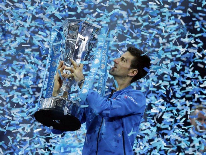 Djokovic retuvo el título de Maestro en Londres.
