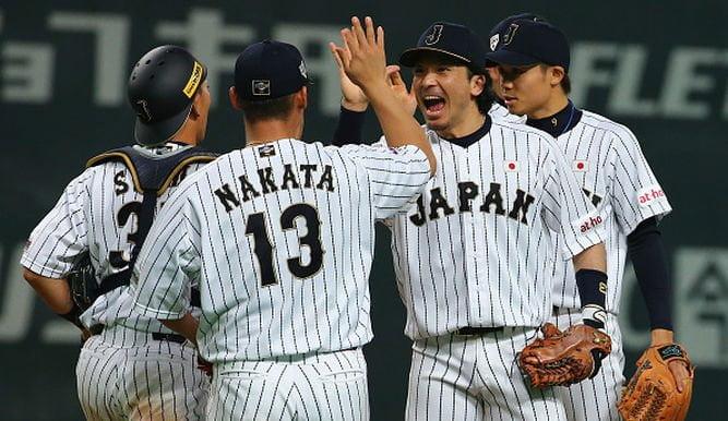 Japón es líder del ranking del béisbol y favorito para ganar la primera edición del PREMIER 12.